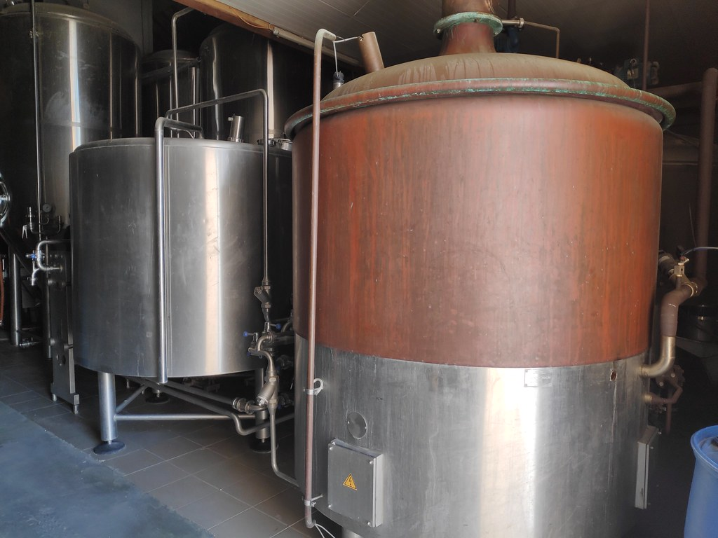 Fábrica de cervezas Hof ten Dormaal. Lovaina.