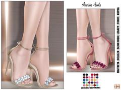 Hilly Haalan - Annica Heels