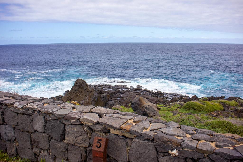 Las antiguas salinas de Buenavista del Norte en Tenerife