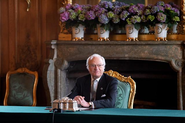 Bijeenkomst Kabinet Zweden t.g.v. geboorte zoon Prins Carl Philip en Prinses Sofia van Zweden (2021)