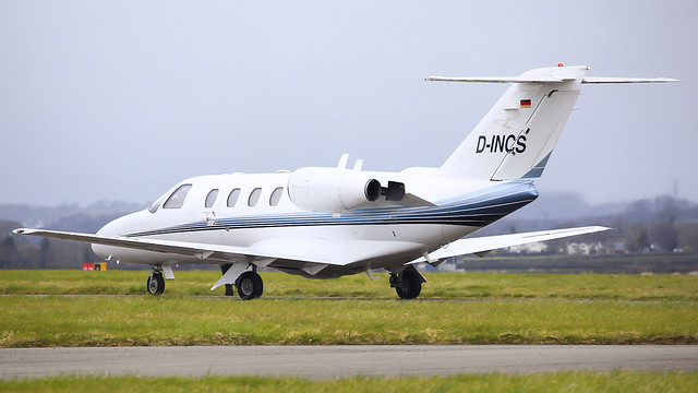 D-INCS @ Cardiff Airport 28/03/21