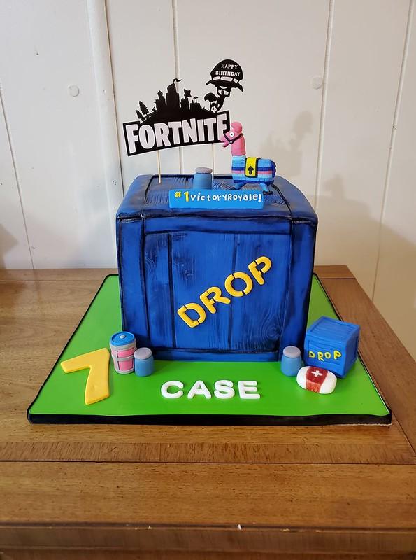 Cake by Baker E's Custom Cakes