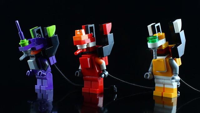 LEGO Mini EVANGELIONS & Mini ANGELS.