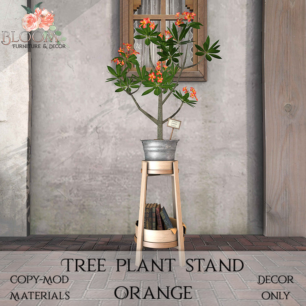 Bloom! – Tree plant stand OrangeAD