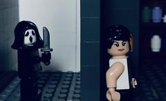 LEGO Scream 2 Gale Weathers vs Ghostface