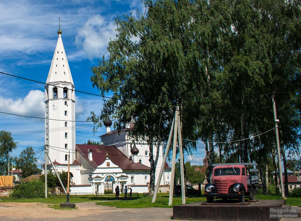 село Вятское храм