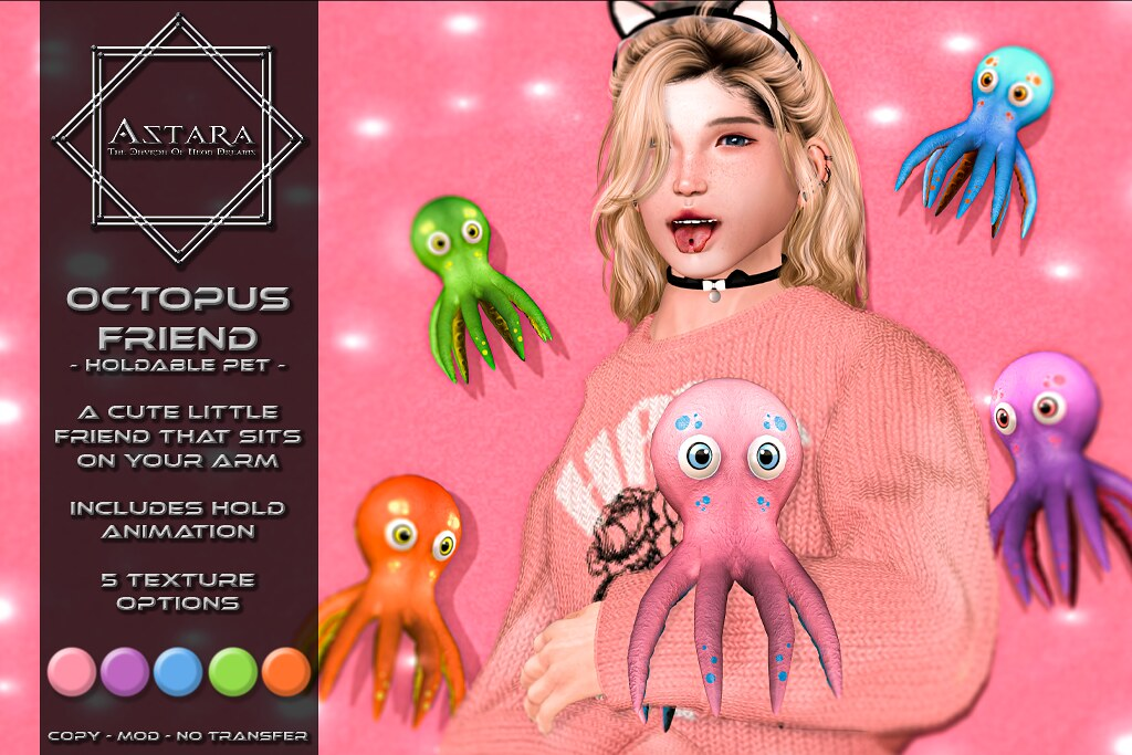 Astara - Octopus Friend Ad