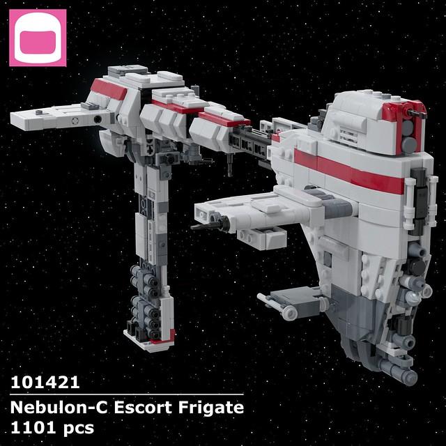 Nebulon-C Escort Frigate Box Art