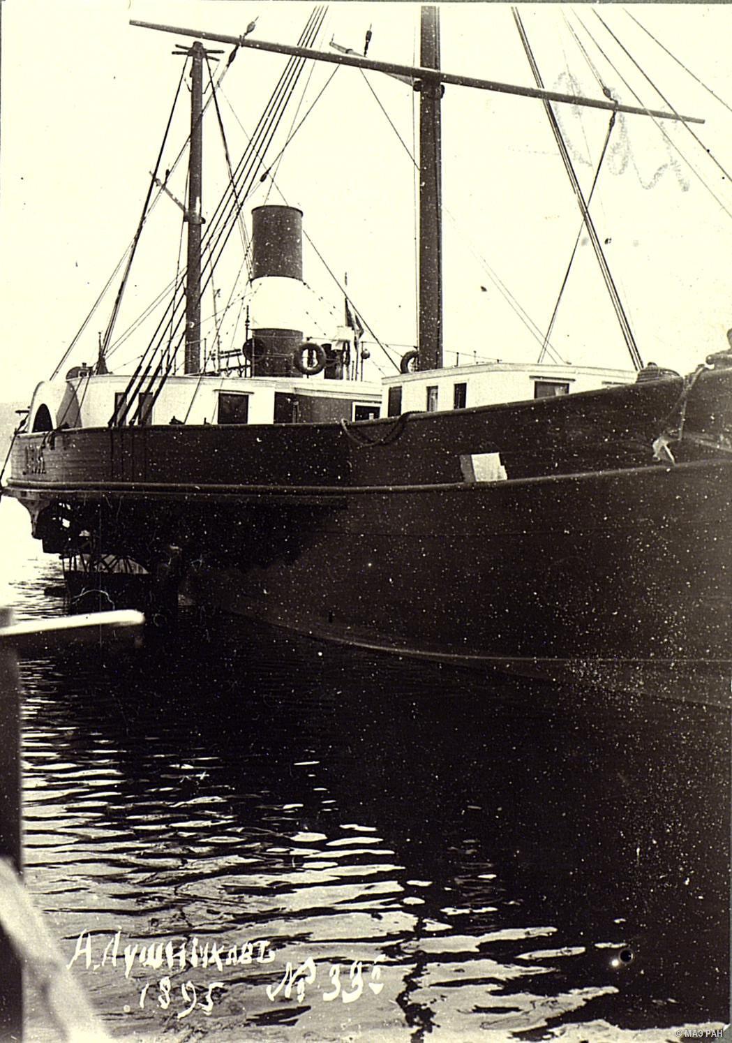 19. Байкальский пароход.