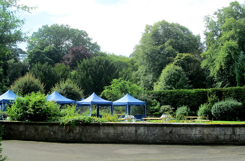 Dining Tents, Balbirnie House Hotel