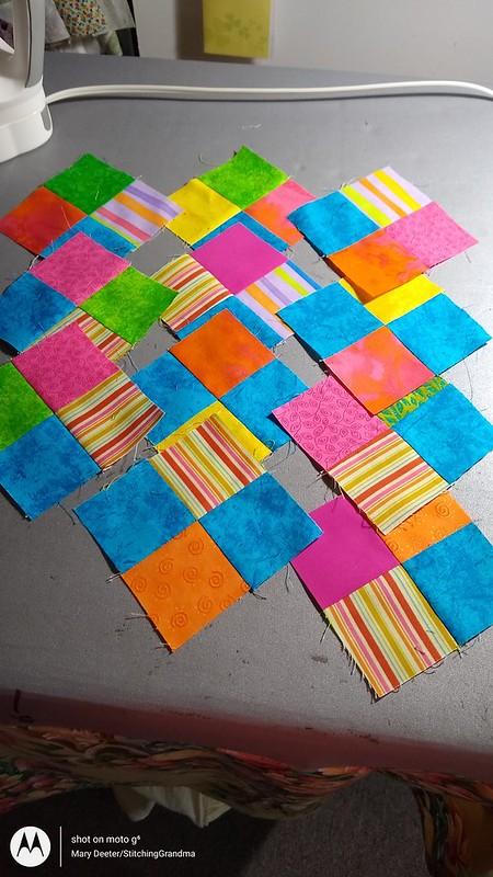 4 patches Scrap Dance Pachanga