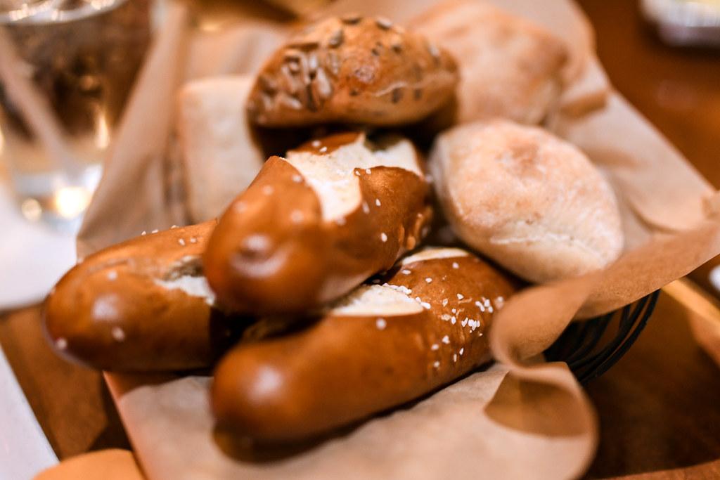 Le Cellier bread Epcot