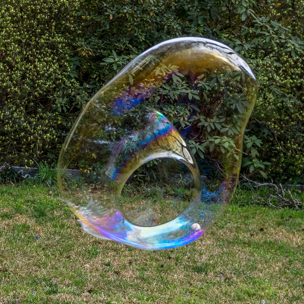 Just a bubble