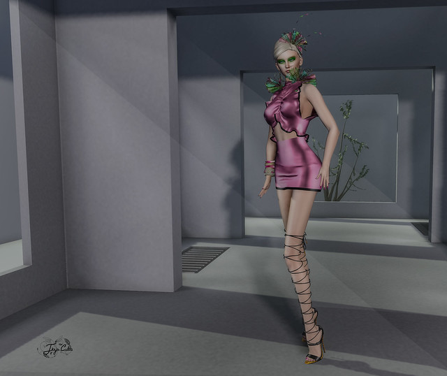 Travel in dreams… Tutorial – How I match the colors in my outfits: pink.