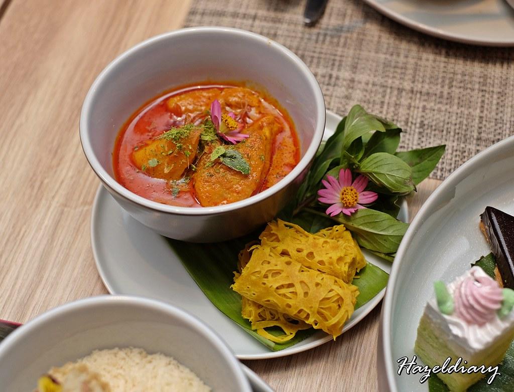 Peranakan Afternoon Tea Four Seasons and Candlenut-Roti Jala