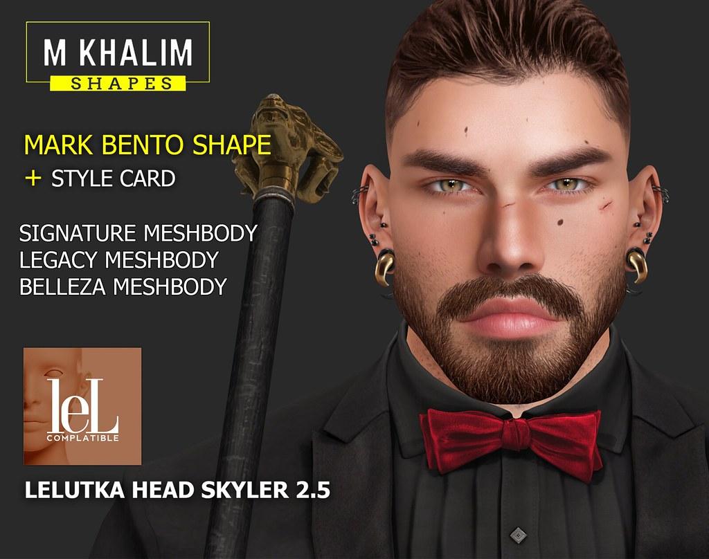 MARK BENTO SHAPE LELUTKA HEAD SKYLER 2.5
