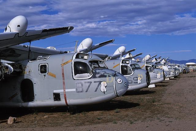 airplane graveyard. tucson, az. 1999.