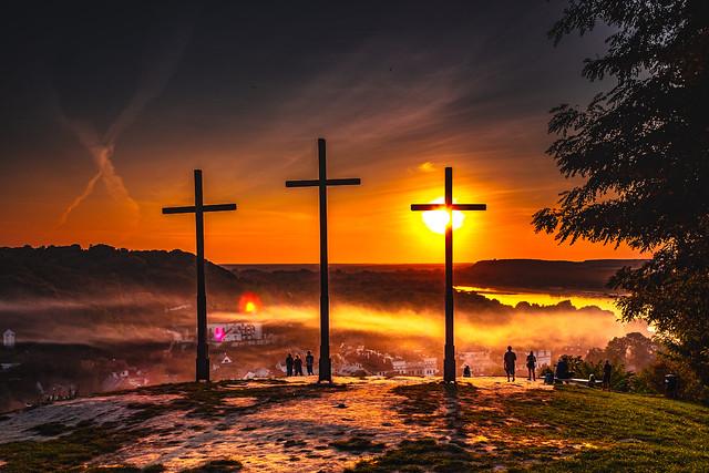 The Hill of Three Crosses - Kazimierz Dolny