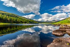 Llynnau Mymbyr Snowdonia