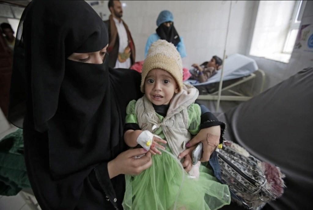 超過六年的葉門戰爭導致12,000位平民死亡,其中1/4為兒童。(圖片來源:Hani Mohammed/AP)