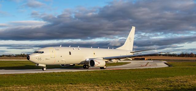 RAF Poseidon MRA 1 ZP805 -