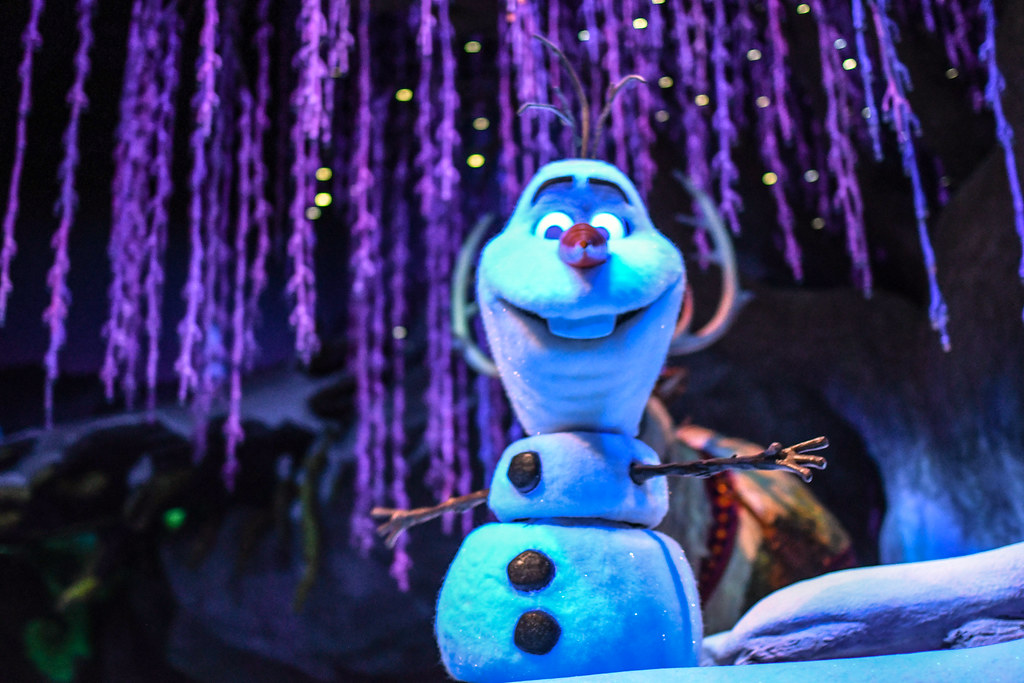 Olaf Frozen Ever After Epcot