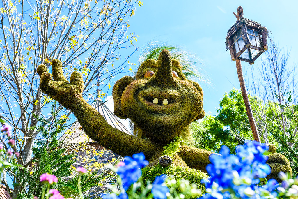 Norway troll flower & garden Epcot