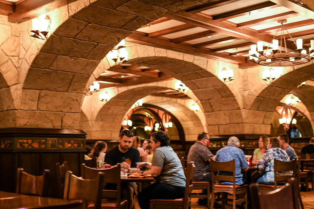Le Cellier seating Epcot