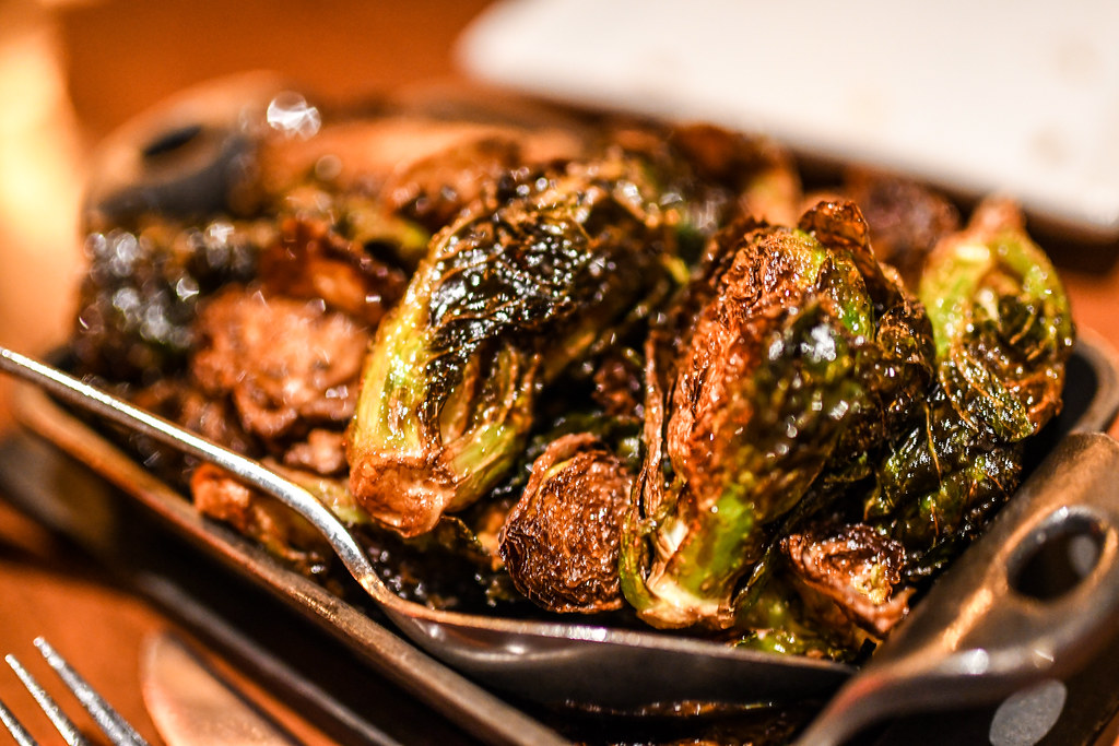 Le Cellier brussel sprouts Epcot