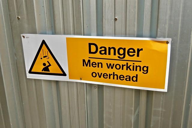 Men Working Overhead, Bristol, UK