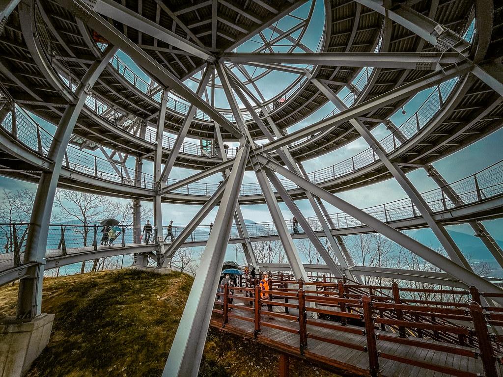Inside Macheonha Skywalk