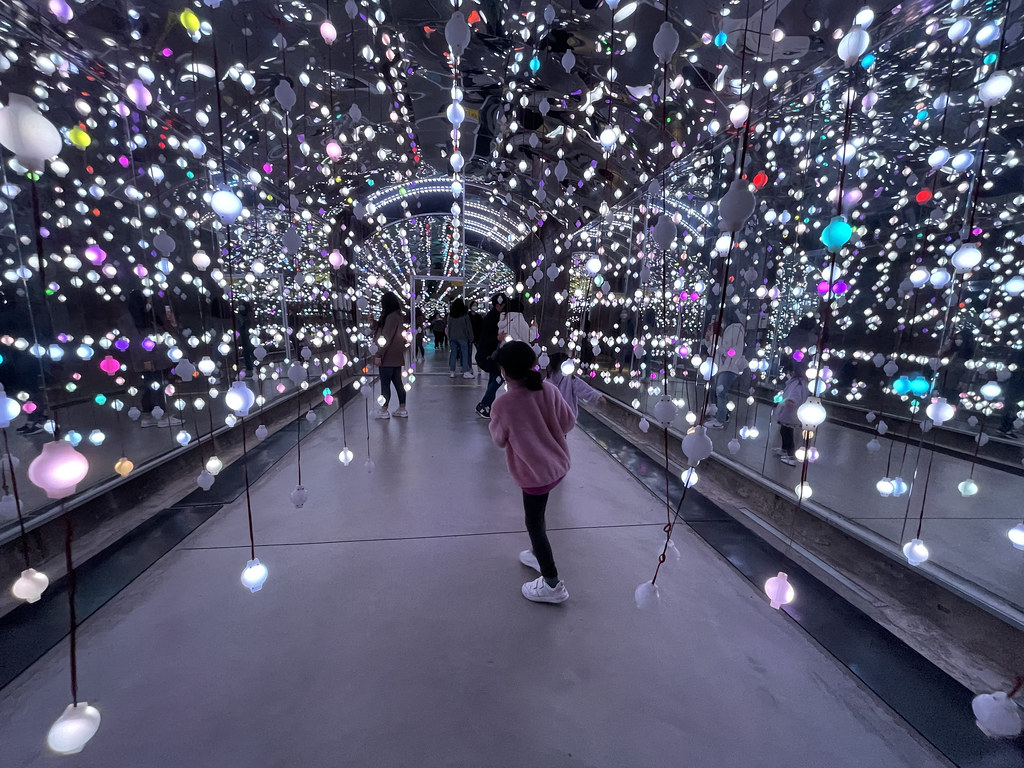 Suyanggae Light Tunnel | Things to do in Danyang Korea