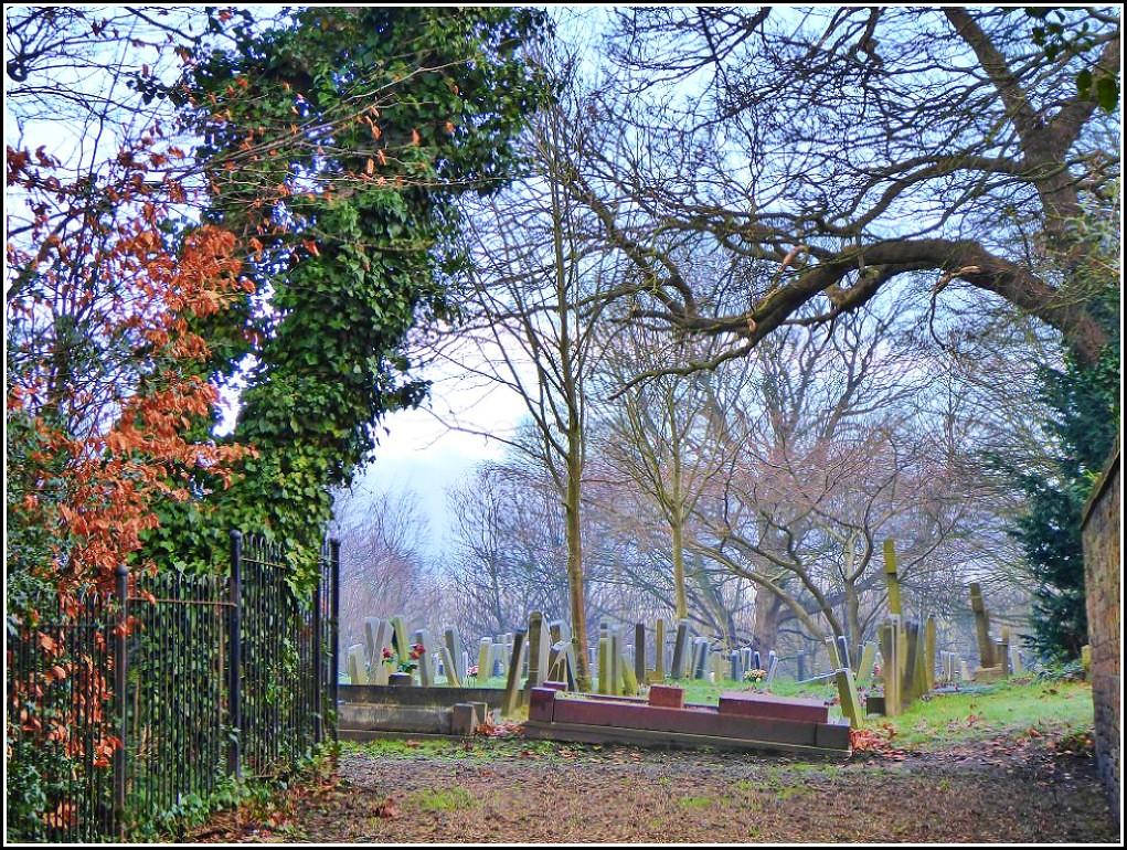 Cemetery Entrance ...