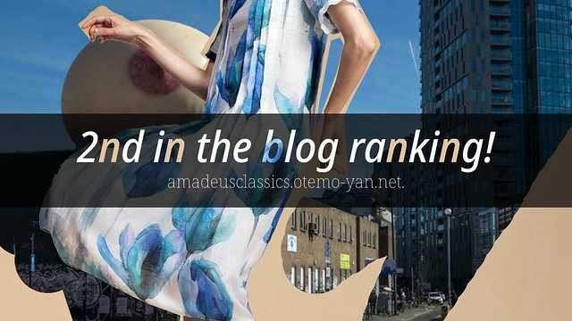 2nd in the blog ranking