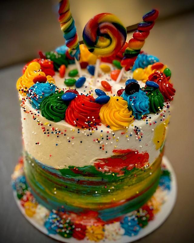 Rainbow Cake by Sweet Life Bakery