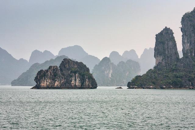 Misty Ha Long Bay