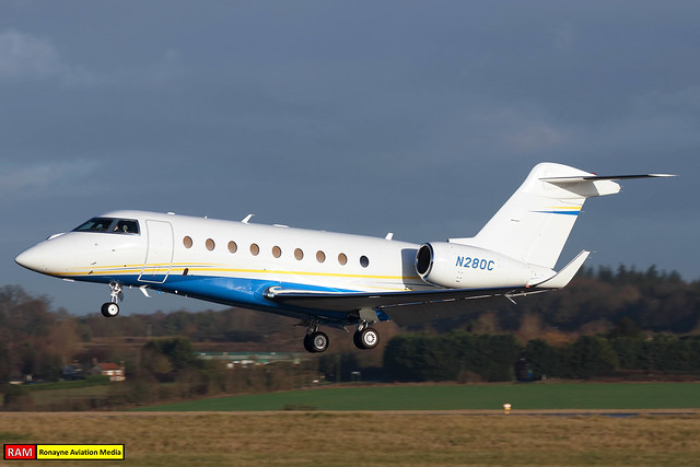 N280C | Gulfstream G280 | General Avialeasing