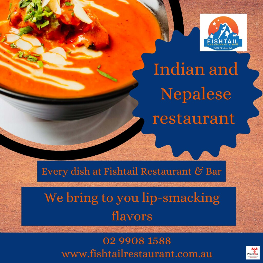 Indian and Nepalese cuisine!