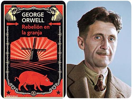 """""""REBELIÓN EN LA GRANJA"""" de George Orwell"""