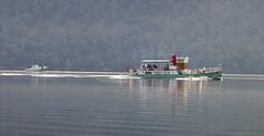 Ullswater Steamers. lake District England UK.