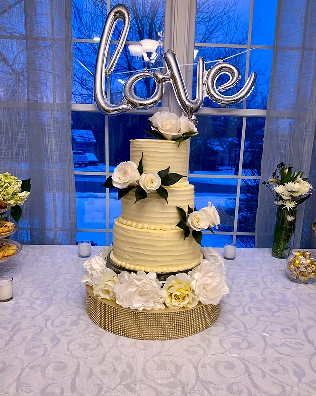 Cake by Serene's Bakery
