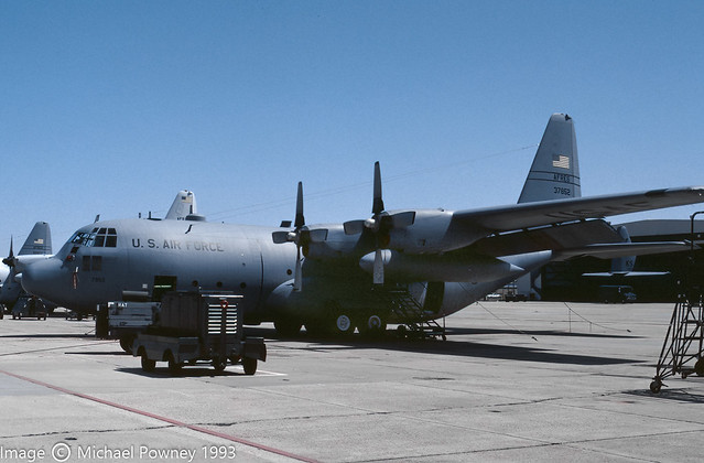 63-7852 - 1963 fiscal Lockheed C-130E Hercules, last known in Ground Instructional use at Biggs AAF, TX