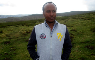 Abiyot Molla, Director of Choke Watershed Research Project Development Department at Debre Markos University. Photo: The Niles / Dagim Terefe