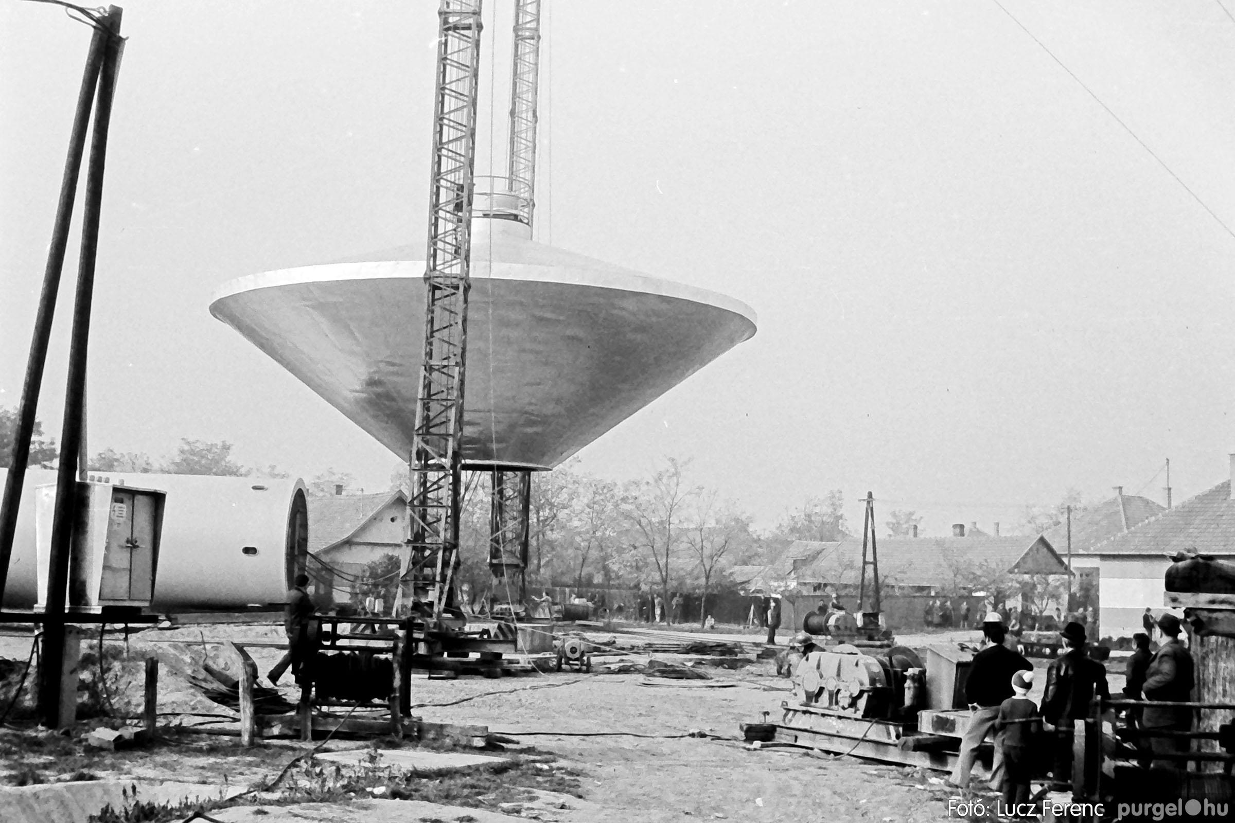 122A. 1978. Épül a víztorony 021. - Fotó: Lucz Ferenc.jpg