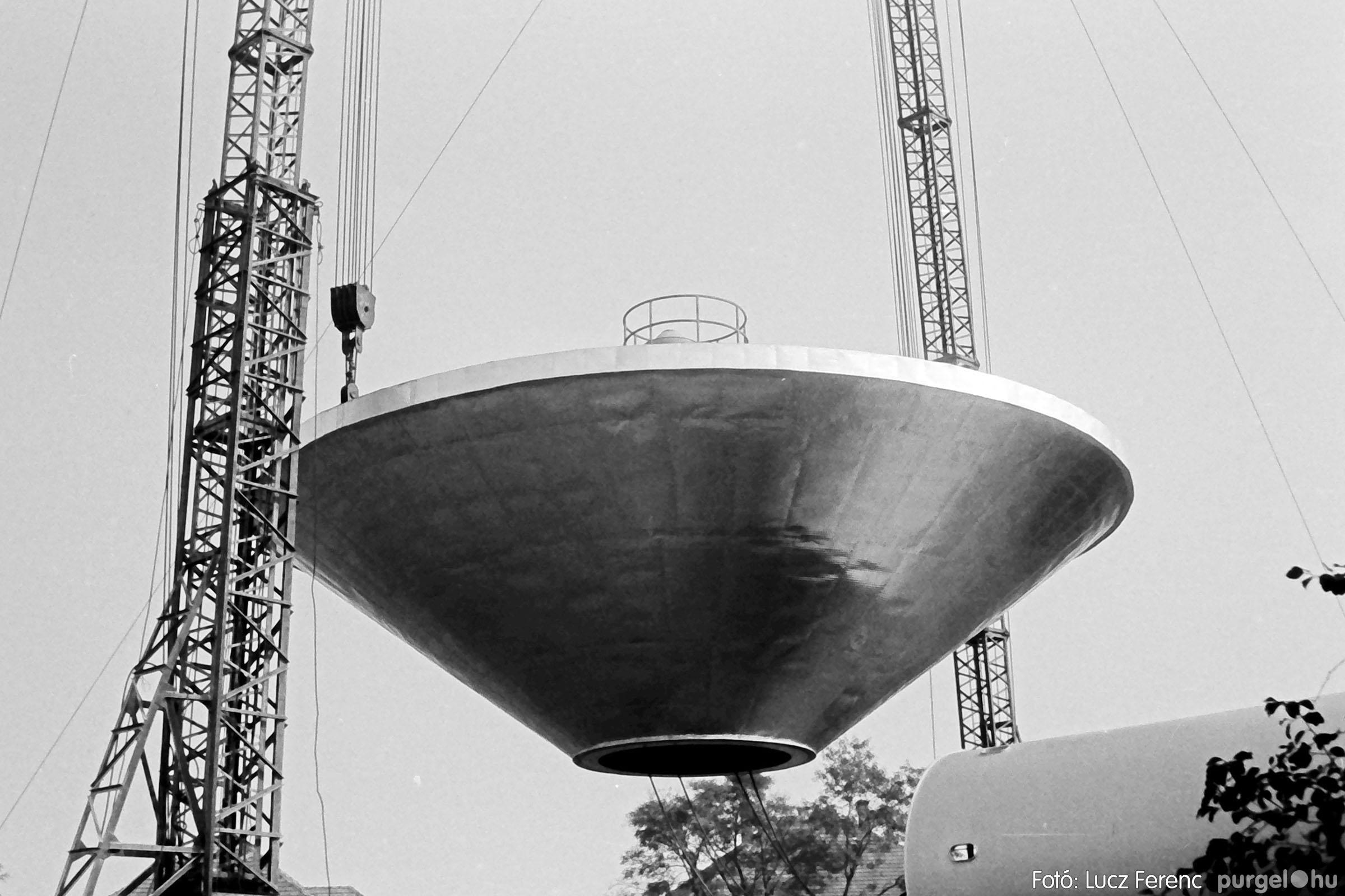 122A. 1978. Épül a víztorony 019. - Fotó: Lucz Ferenc.jpg