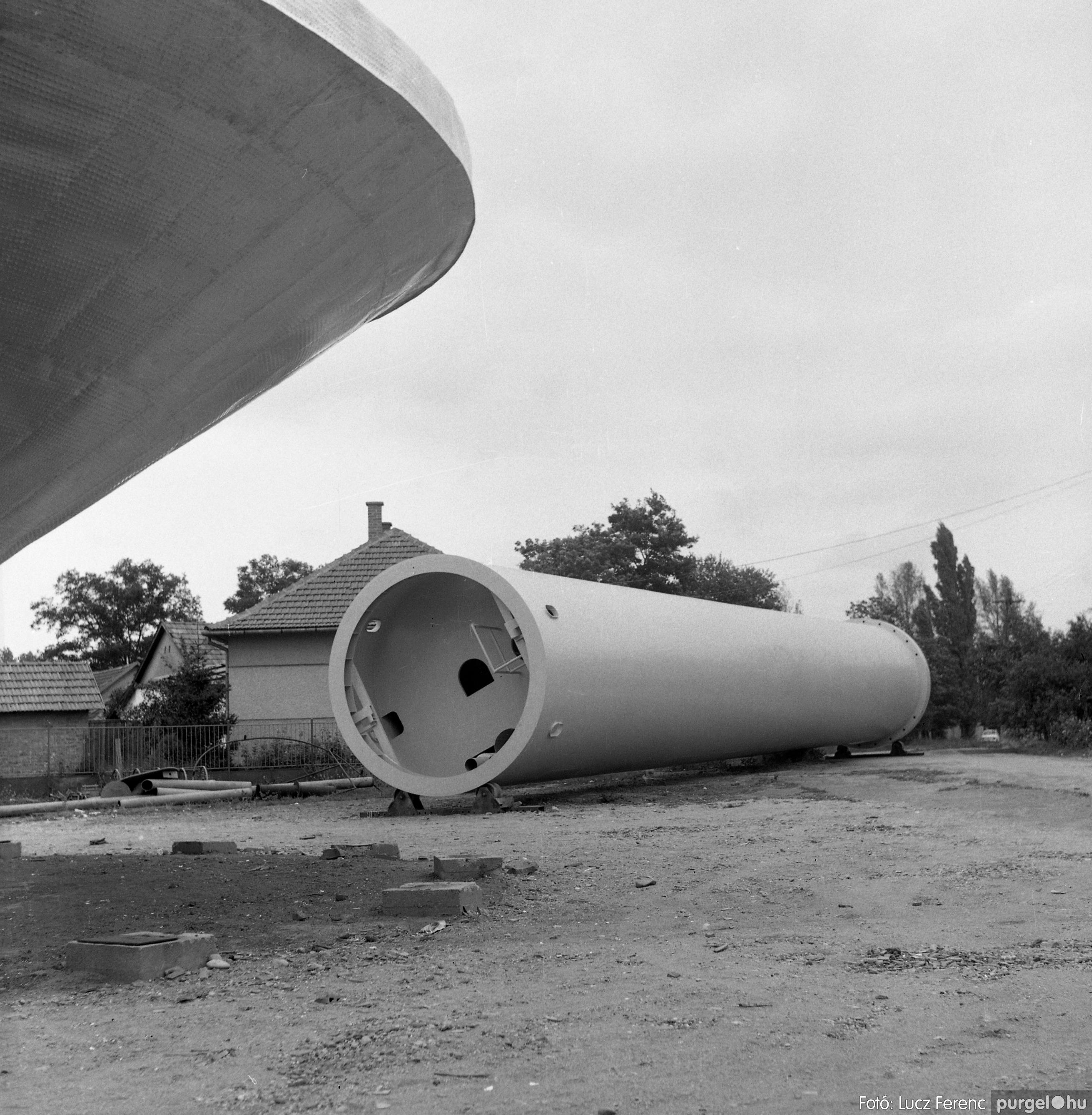 078. 1978. Épül a víztorony 002. - Fotó: Lucz Ferenc.jpg