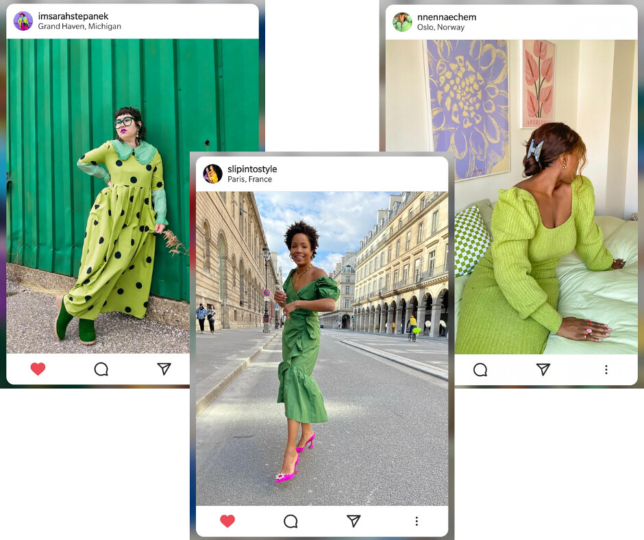 Green Outfits - Instagram 1