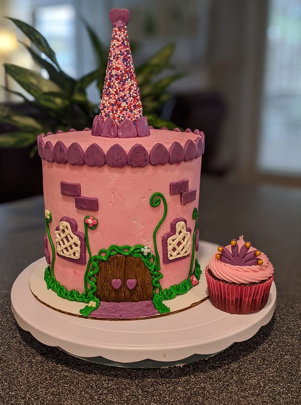 Castle Cake by Maddy Cakes