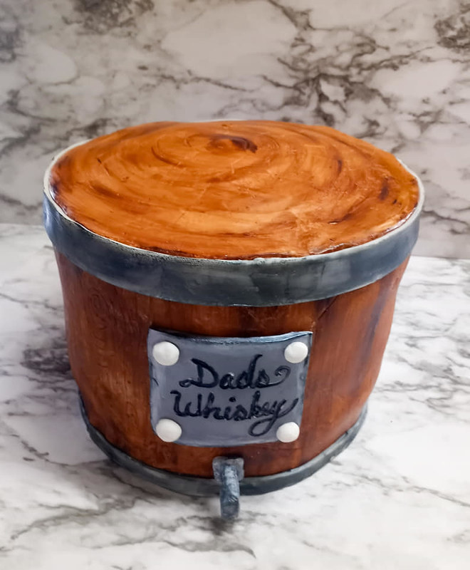 Cake by WildFlour Bakery