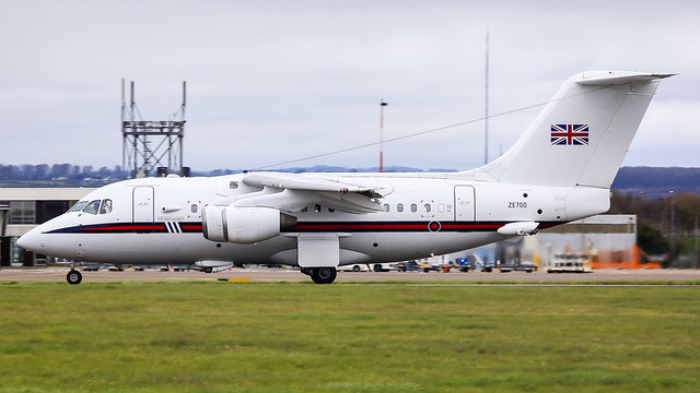 ZE700 @ Cardiff Airport 29/03/21